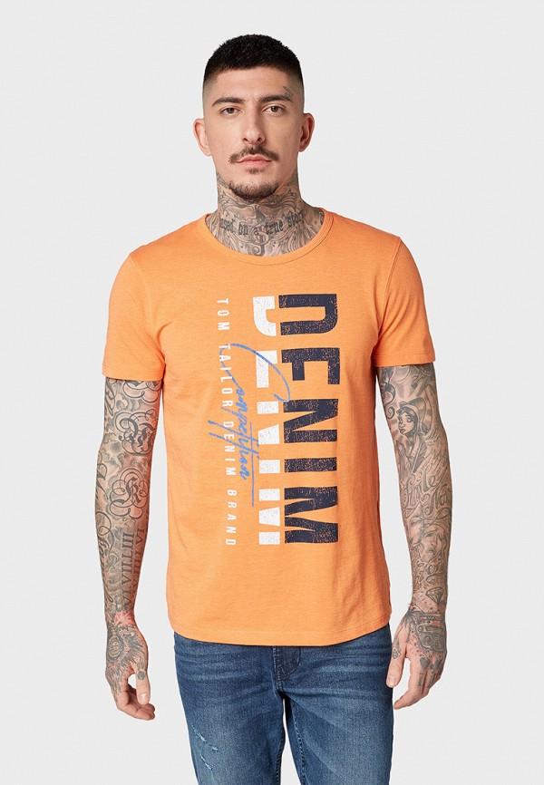 Футболка Tom Tailor Denim Tom Tailor Denim TO793EMFHGF8 футболка tom tailor denim tom tailor denim to793emacpm9