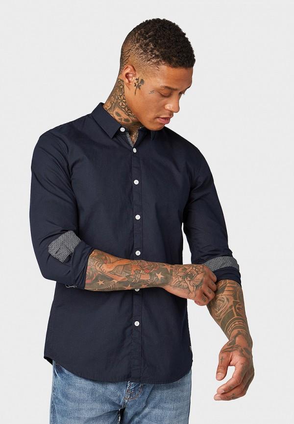 Рубашка Tom Tailor Denim Tom Tailor Denim TO793EMFHGH2 рубашка мужская tom tailor denim цвет темно синий 2030223 00 12 2132 размер xl 52