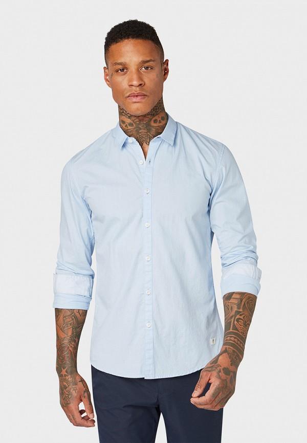 Рубашка Tom Tailor Denim Tom Tailor Denim TO793EMFHGH3 рубашка мужская tom tailor denim цвет голубой белый светло серый 2033793 00 12 6695 размер m 48