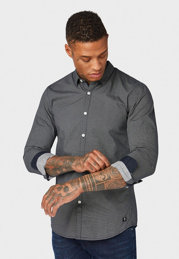 Рубашка Tom Tailor Denim Tom Tailor Denim TO793EMFHGH4 рубашка tom tailor denim tom tailor denim to793emdtdu1