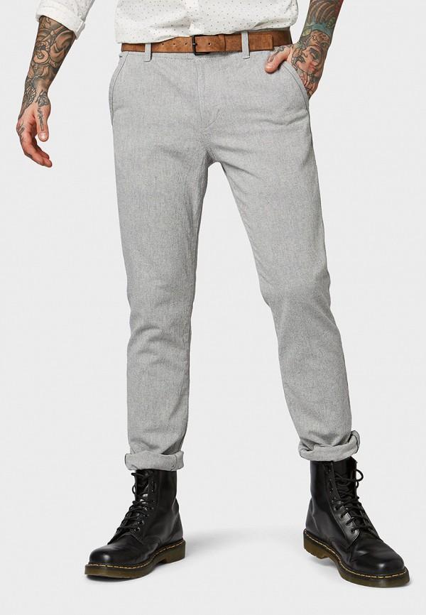 мужские повседневные брюки tom tailor, серые