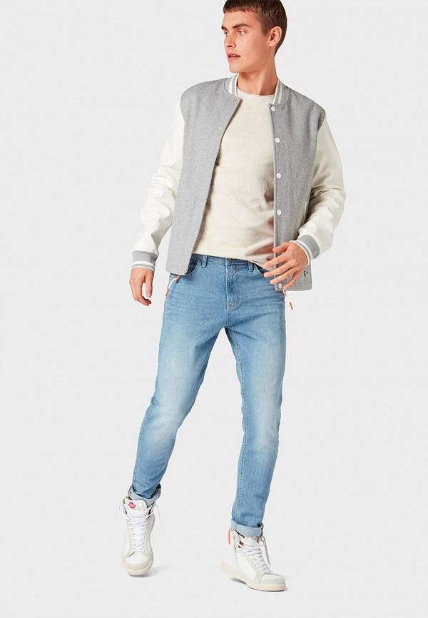 Фото 2 - мужские джинсы Tom Tailor Denim голубого цвета