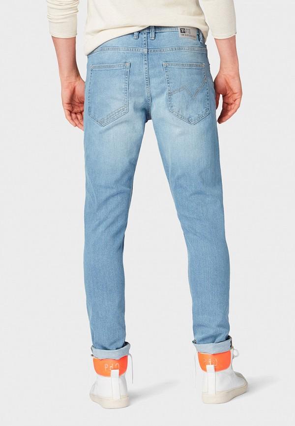 Фото 3 - мужские джинсы Tom Tailor Denim голубого цвета