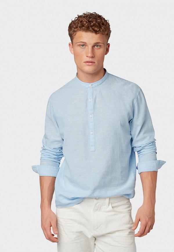 Рубашка Tom Tailor Denim Tom Tailor Denim TO793EMFYVL4 рубашка мужская tom tailor denim цвет голубой белый светло серый 2033793 00 12 6695 размер m 48