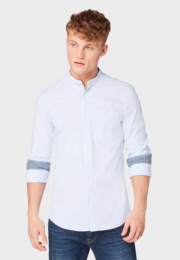 Рубашка Tom Tailor Denim Tom Tailor Denim TO793EMGBCL3 рубашка мужская tom tailor denim цвет голубой белый светло серый 2033793 00 12 6695 размер m 48