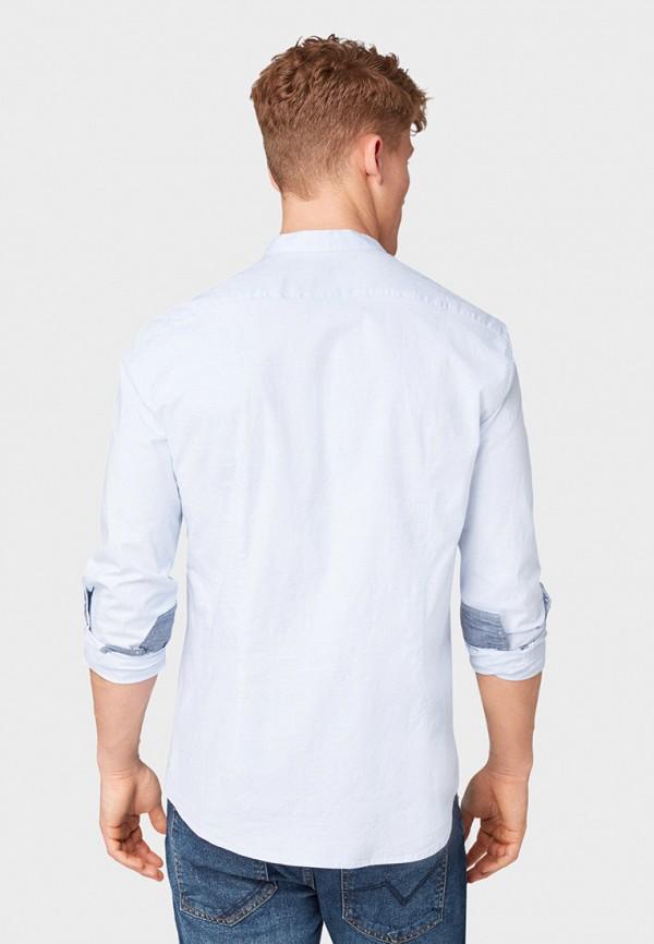 Фото 3 - мужскую рубашку Tom Tailor Denim голубого цвета