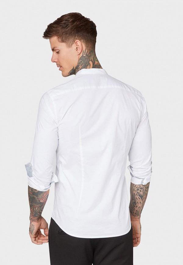 Фото 3 - мужскую рубашку Tom Tailor Denim белого цвета