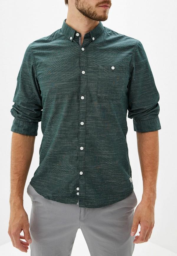 Фото - Рубашку Tom Tailor Denim зеленого цвета