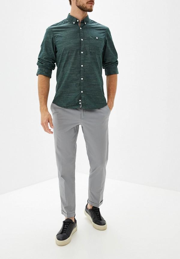Фото 2 - Рубашку Tom Tailor Denim зеленого цвета