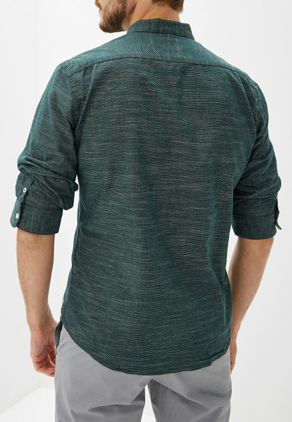 Фото 3 - Рубашку Tom Tailor Denim зеленого цвета