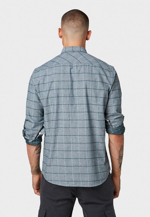 Фото 3 - мужскую рубашку Tom Tailor Denim зеленого цвета