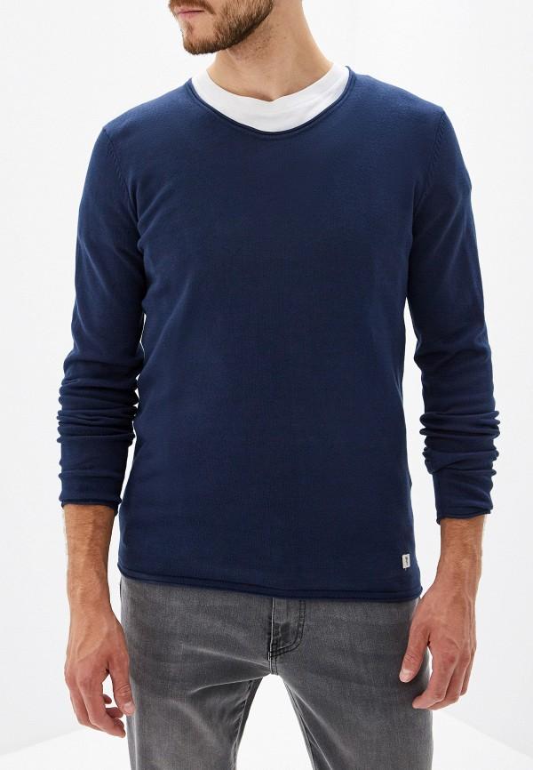 Фото - мужское джемпер Tom Tailor Denim синего цвета