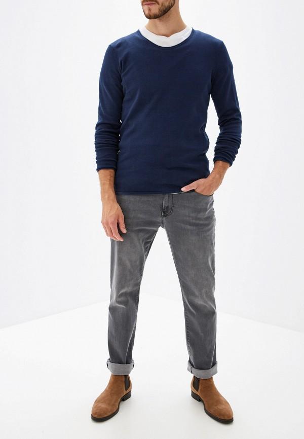 Фото 2 - мужское джемпер Tom Tailor Denim синего цвета