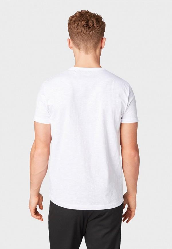 Фото 3 - мужскую футболку Tom Tailor Denim белого цвета