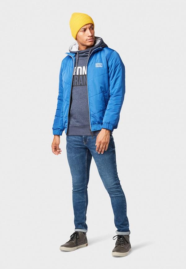 Фото 2 - Куртку утепленная Tom Tailor Denim синего цвета