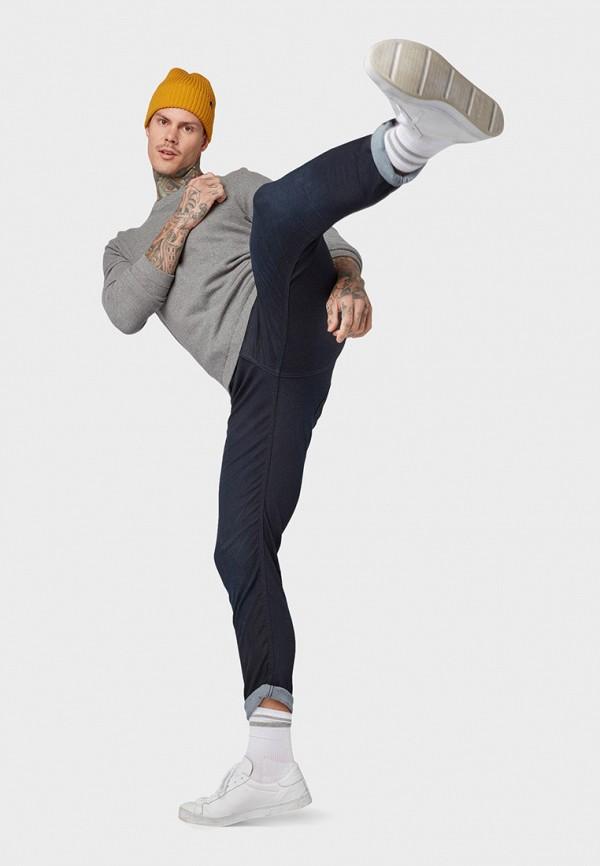 Фото 2 - мужские брюки Tom Tailor Denim черного цвета