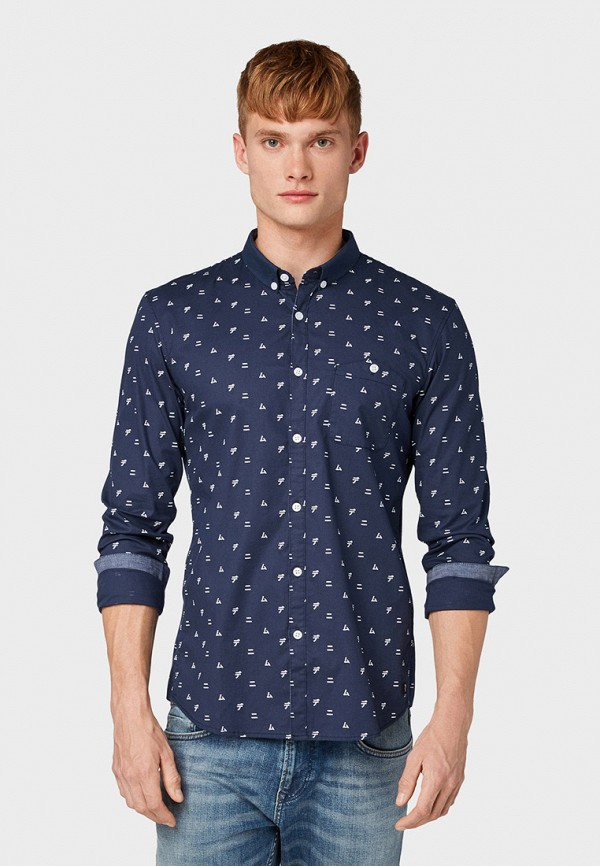 Рубашка Tom Tailor Denim Tom Tailor Denim TO793EMGBDD0 рубашка tom tailor denim tom tailor denim to793emdtdu1
