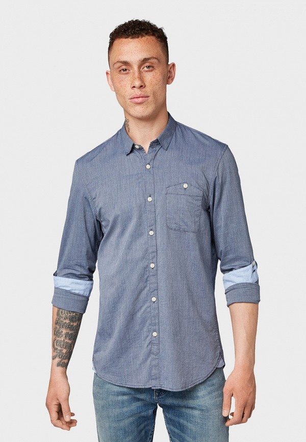 Рубашка Tom Tailor Denim Tom Tailor Denim TO793EMGBDD6 рубашка tom tailor denim tom tailor denim to793emdtdu1