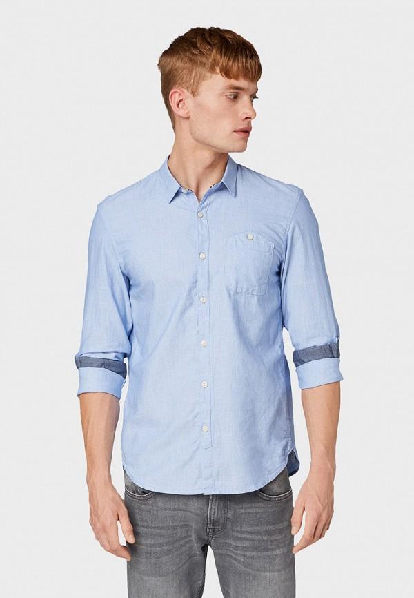 Рубашка Tom Tailor Denim Tom Tailor Denim TO793EMGBDD7 рубашка мужская tom tailor denim цвет голубой белый светло серый 2033793 00 12 6695 размер m 48