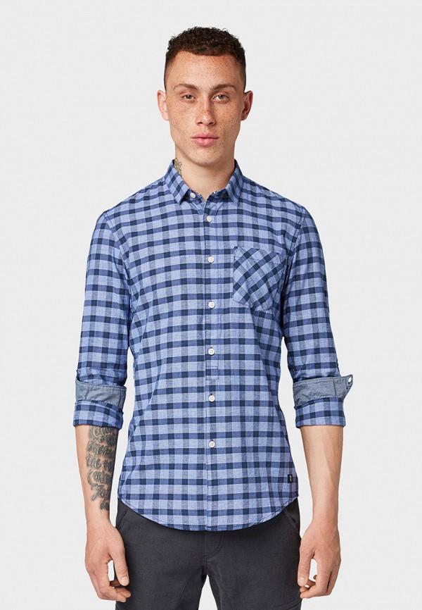 Рубашка Tom Tailor Denim Tom Tailor Denim TO793EMGBDE2 рубашка regular tom tailor р s int 46 ru 37