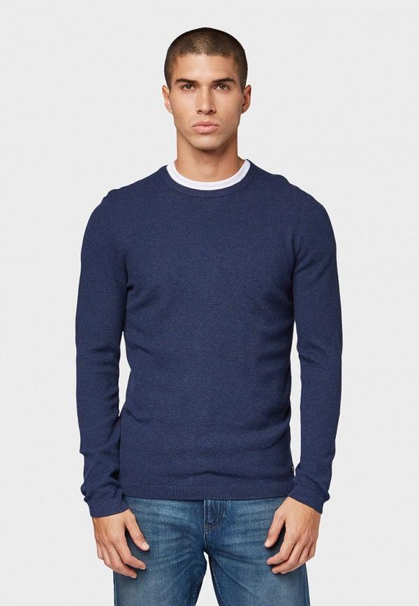 мужской джемпер tom tailor, синий