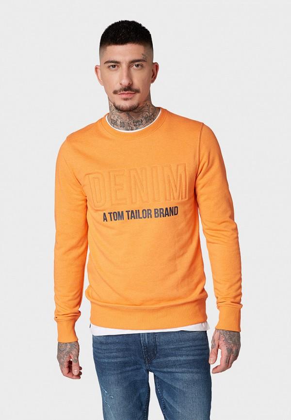 цена Свитшот Tom Tailor Denim Tom Tailor Denim TO793EMGSHE2 онлайн в 2017 году