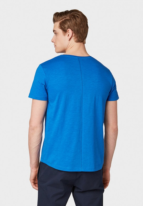 Фото 3 - мужскую футболку Tom Tailor Denim синего цвета