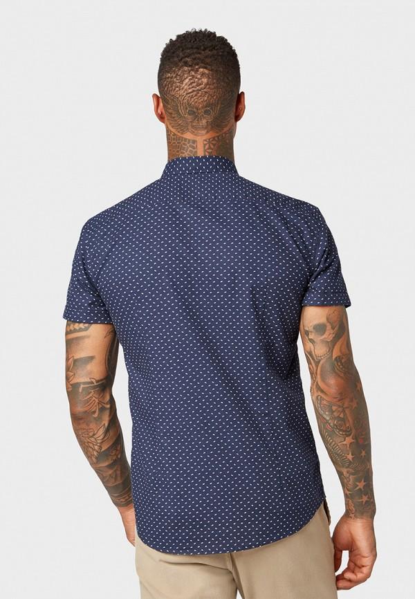 Фото 3 - мужскую рубашку Tom Tailor Denim синего цвета