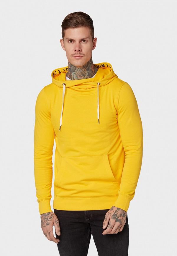 мужские худи tom tailor, желтые