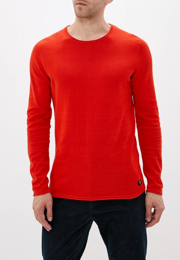 мужской джемпер tom tailor, оранжевый