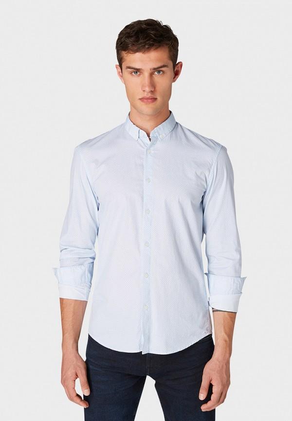 Рубашка Tom Tailor Denim Tom Tailor Denim TO793EMHIMI8 рубашка мужская tom tailor denim цвет белый голубой хаки 2033365 00 12 6696 размер s 46