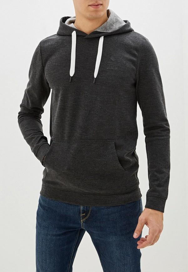 мужские худи tom tailor, серые