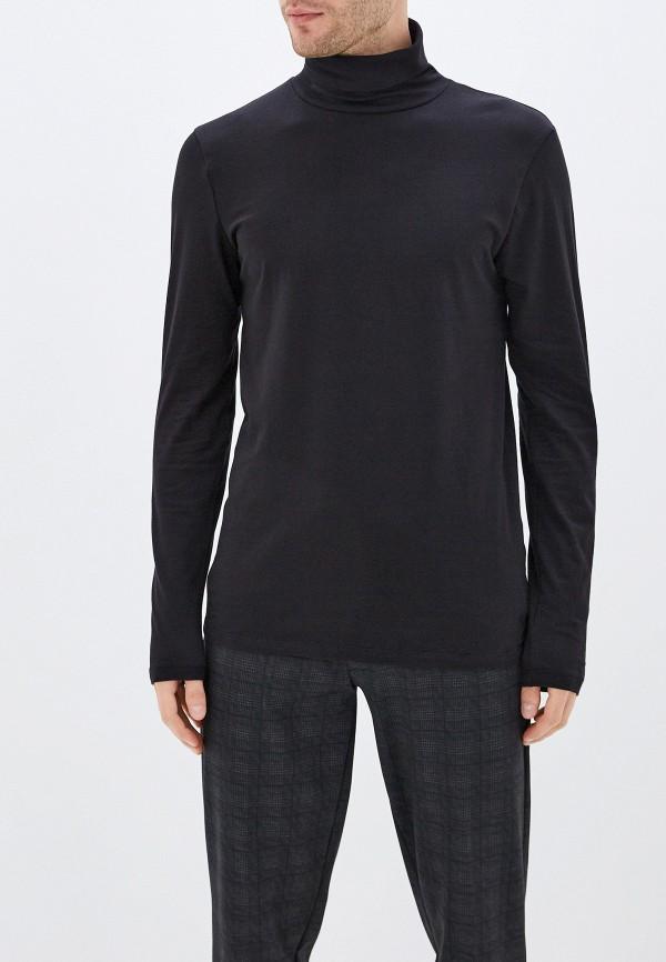 мужская водолазка tom tailor, черная
