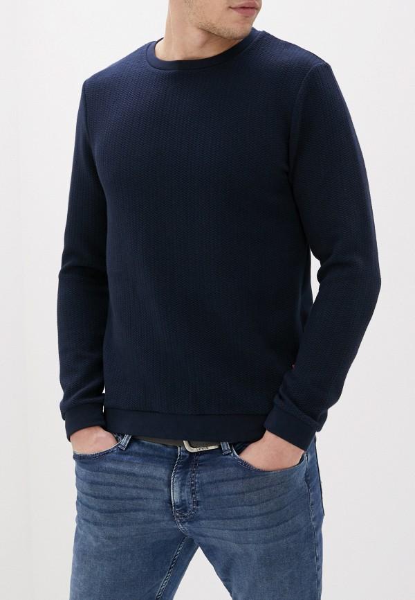мужской свитшот tom tailor, синий