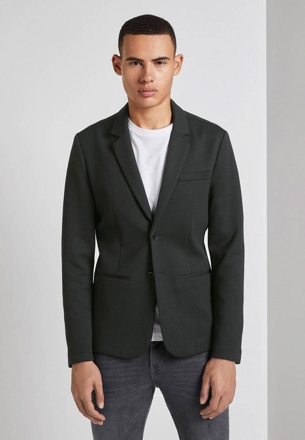 мужской пиджак tom tailor, черный