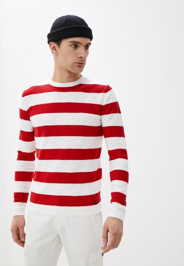 мужской джемпер tom tailor, красный