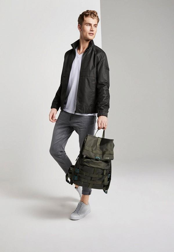 Фото 2 - Куртку утепленная Tom Tailor Denim черного цвета