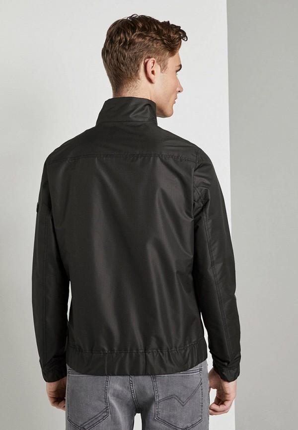 Фото 3 - Куртку утепленная Tom Tailor Denim черного цвета