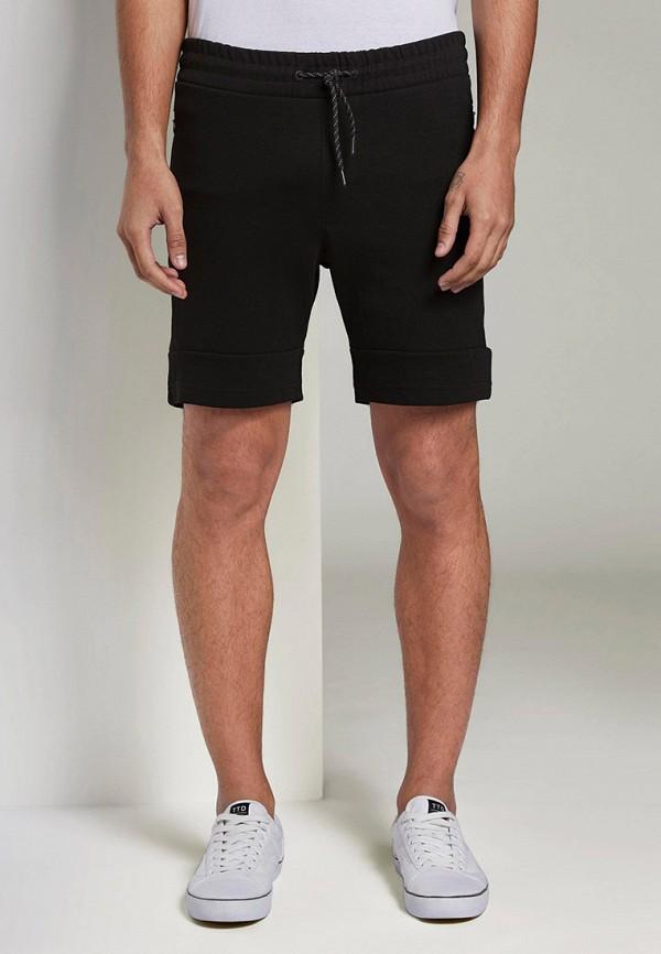 мужские повседневные шорты tom tailor, черные