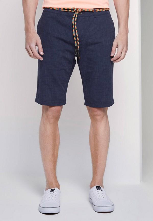 мужские повседневные шорты tom tailor, синие