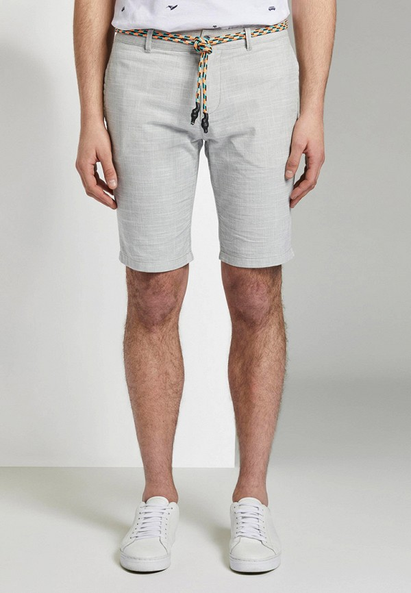 мужские повседневные шорты tom tailor, зеленые