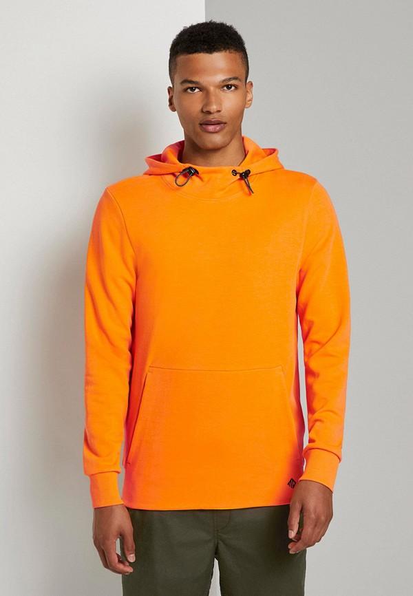 мужские худи tom tailor, оранжевые