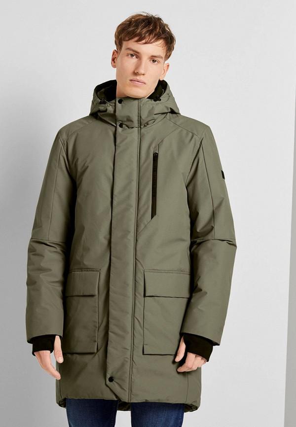 мужская куртка tom tailor, хаки