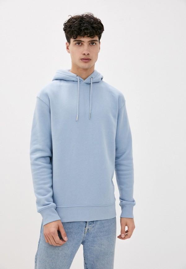 мужские худи tom tailor, голубые