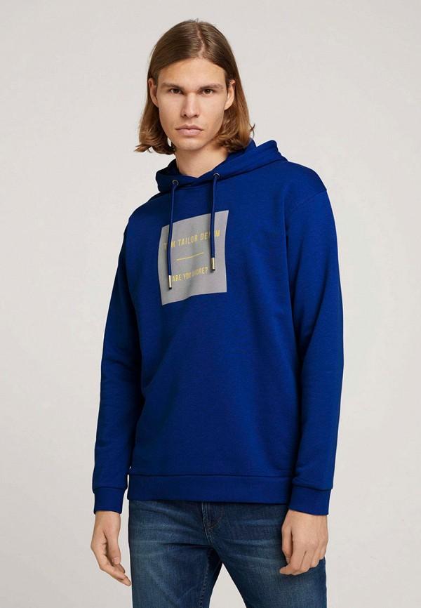 мужские худи tom tailor, синие