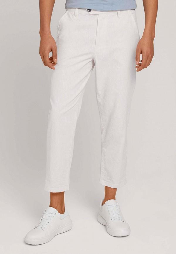 мужские повседневные брюки tom tailor, белые