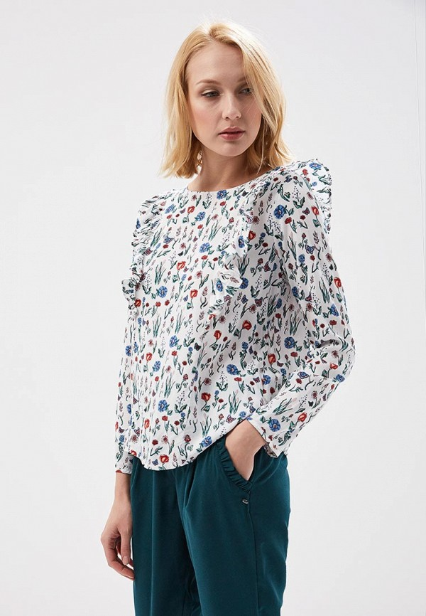 Блуза Tom Tailor Denim Tom Tailor Denim TO793EWACPI9 блуза tom tailor 2032912 09 70 8210
