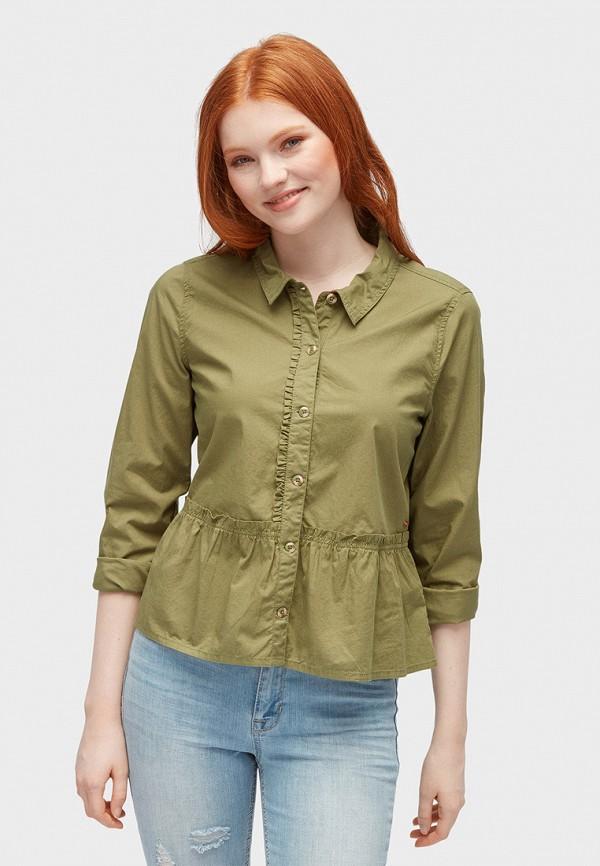 лучшая цена Блуза Tom Tailor Denim Tom Tailor Denim TO793EWACPX5