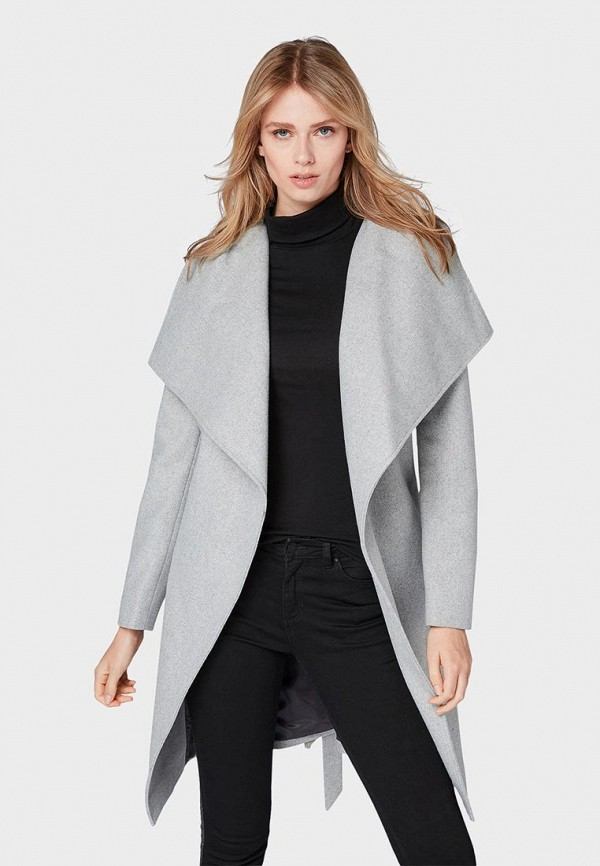 Пальто Tom Tailor Denim Tom Tailor Denim TO793EWBXFG8 buckle design denim belt