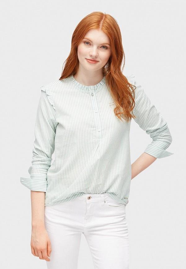 Блуза Tom Tailor Denim Tom Tailor Denim TO793EWBXFI3 блуза tom tailor цвет зеленый
